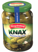 Hengstenberg Polish Style Gherkins in Jar