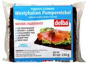 Delba Dark (Westphalian) Pumpernickel Bread