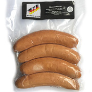 The Taste of Germany Knockwurst Smoked Beef and Pork Sausages with Garlic and Crunchy Skin 1lbs.