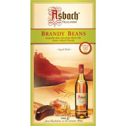 Asbach Dark Chocolate Beans with Brandy no sugar crust 3.5 oz.
