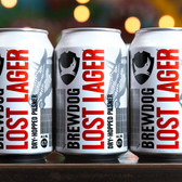 Brewdog Lost Lager (24 x 330ml Cans)