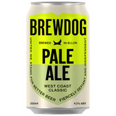 Brewdog Pale Ale (24 x 330ml Cans) BBD 2021-08-07