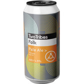 Two Tribes Folk Pale Ale (24 x 440ml Cans) BBD 06/09/2021