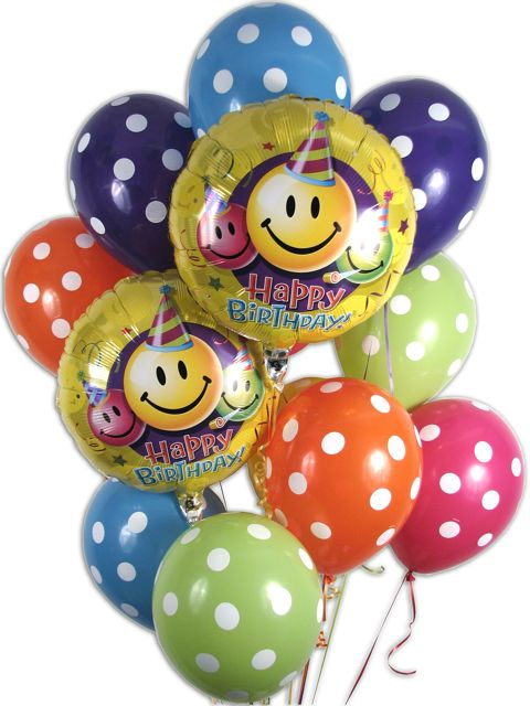 Birthday Balloons Bouquet By Belvedere Flowers Of Havertown