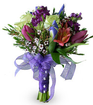 Purple Rain (Prom Bouquet)