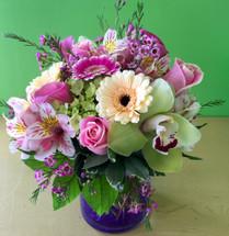 Pretty Dainty Cylinder Vase