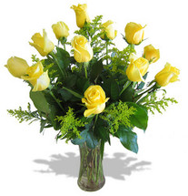 Dozen Yellow Roses (On Sale!)