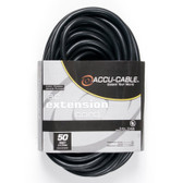 Accu Cable 50'-12 Gauge Edison Extension
