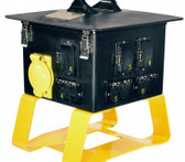 Lex 50 Amp Terrapin Station II™ to Straight Blade and Locking Receptacles, Feed Thru