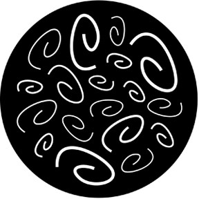 77577 Curly Coils Breakup Gobo
