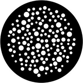 79650 Bubbles Small Breakup Gobo