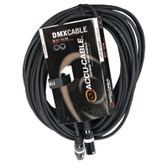 Accu Cable 3 Pin DMX - 50'