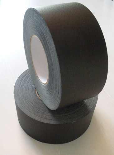 "Polyken 510 Gaffer Tape, 3""x55yds, BLACK"