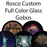 Rosco Custom Full Color Glass Gobos