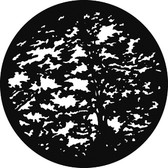 Rosco/GAM 545 Giant Trees Steel Gobo