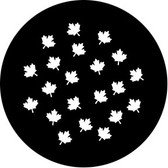 Rosco/GAM 78672 Maple Leaf Breakup (Small) Steel Gobo