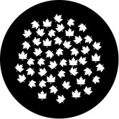 Rosco/GAM 78673 Maple Leaf Breakup (Large) Steel Gobo