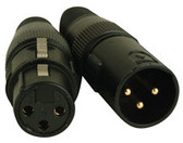 Accu Cable 3 Pin DMX Connectors