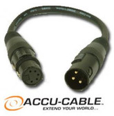 Accu Cable 5 Pin Female to 3 Pin Male Turnaround