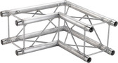Global Truss SQ-F24C21, 1.64ft. (0.5m) 90 Degree Corner SQ-F24C21