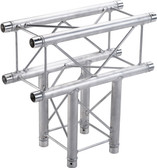 Global Truss SQ-F24C35, 1.64ft. (0.5m) 3 Way T-Junction SQ-F24C35