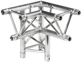 Global Truss TR-4093DL, 1.64ft. (0.5m) 3 Way 90 Degree - Left Corner Apex Down Left TR-4093DL