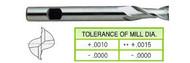 YG1 USA EDP # 03039 2 FLUTE SE EXTENDED LENGTH HSS 1/8 x 3/8 x 3/8 x 13/16 x 2-3/8
