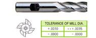 YG1 USA EDP # 04039HC 4 FLUTE REGULAR LENGTH TICN COATED HSS 1/8 x 3/8 x 3/8 x 2-5/16