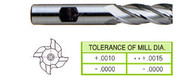 YG1 USA EDP # 04317 4 FLUTE REGULAR LENGTH 8% COBALT 15/32 x 1/2 x 1-1/4 x 3-1/4