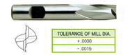 YG1 USA EDP # 14289CC 2 FLUTE REGULAR LENGTH SE KEY WAY CUTTING TICN COATED 8% COBALT 1/8 x 3/8 x 3/8 x 2-5/16