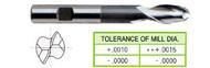 YG1 USA EDP # 42039 2 FLUTE EXTENDED LENGTH SE BALL NOSE HSS 1/8 x 3/8 x 3/8 x 13/16 x 2-3/8