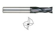 YG1 USA EDP # 93080 2 FLUTE REGULAR LENGTH X-POWER CARBIDE 1/2 x 1/2 x 1 x 3