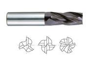 YG1 USA EDP # 95081 3 FLUTE REGULAR LENGTH FINE PITCH ROUGHER JET-POWER CARBIDE 3/8 x 3/8 x 7/8 x 2-1/2