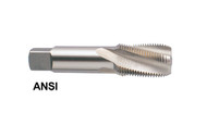 YG1 USA EDP # R1960 4 FLUTE SPIRAL FLUTED PIPE TAP 15 DEG HELIX  NPT/F STRAIGHT SHANK HARDSLICK COATED 1*1/2 - 11*1/2