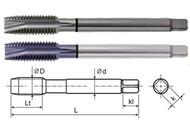 YG1 USA EDP # TC283C HSS-EX COMBO MODI SPIRAL POINT TAP DIN LENGTH ANSI SHANK TIN COATED #8-32 UNC GH3 54.0 OAL