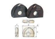 YG1 USA EDP # XB1A040 I-XMILL BALL INSERT 5/8 x R5/16 x 1/2 x .165