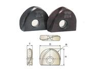 YG1 USA EDP # XB1A100 I-XMILL BALL INSERT 1 x R1/2 x 3/4 x .244
