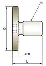 YG1 USA EDP # ZZ051 SLITTING SAW ARBOR CAP 1.02 x 1.50