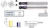 YG1 USA EDP # 93134 4 FLUTE LONG LENGTH BALL NOSE X-POWER CARBIDE 1/8 x 1/8 x 5/16 x 2-3/8