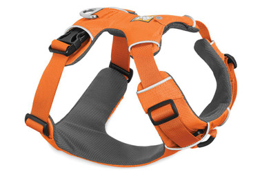 Comfortable, everyday harness that is easy to fit and put on Customizable fit with four points of adjustment allow for full range of motion