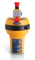 A very small EPIRB for any size on-water vessel.