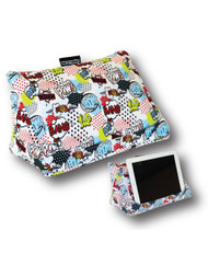 Coz-E-Reader Tablet Cushion Stand in Comic Design (TC1576)