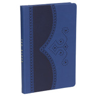 Ted Baker Blue Brogue A5 Notebook