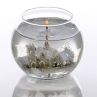 Stoneglow Winter Snowscene Bowl Candle