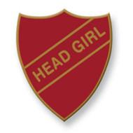 Head Girl Old School Badge