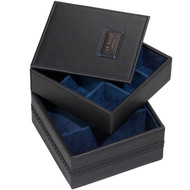 Ted Baker Black Brogue Accessory Box (TED254)