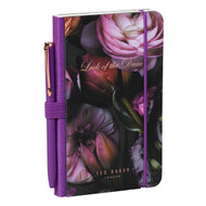 Ted Baker Shadow Flora Mini Notebook & Pen (TED165)
