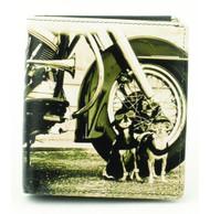 Men's Dog Design Wallet