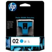 Hewlett Packard-Hp 02 Cyan Ink 400 Page Yield For Psc 8250, 3210 & 3310 SKU C8771WA