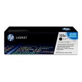 Hewlett Packard-Hp 125a Black Toner 2,200 Page Yield For Clj Cm1312, Cp15xx SKU CB540A